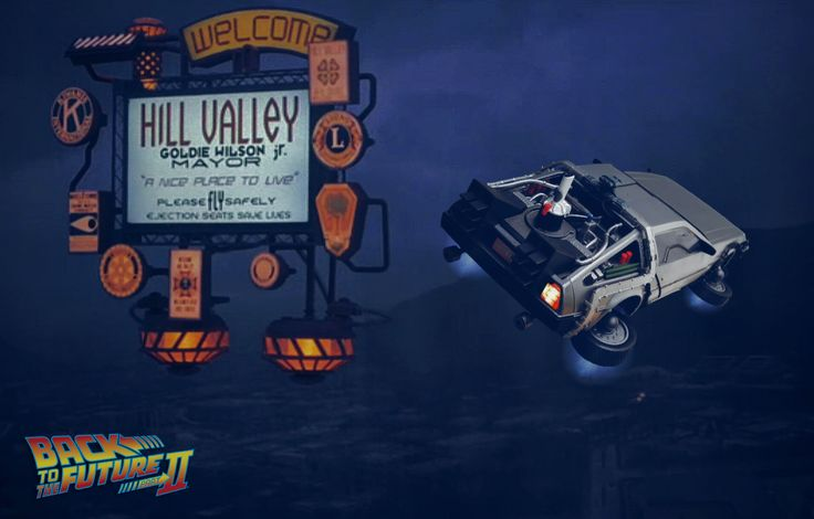 BACK TO THE FUTURE II by Pacific Shatterdome. IG: pacific_shatterdome.