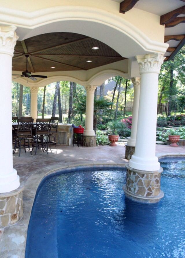 247 Best Pool Side Paradise Images On Pinterest | Dream Pools, Architecture  And Backyard Pools