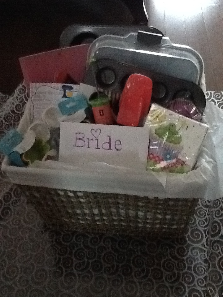 Wedding Themed Gift Basket : ... Theme, Kitchens Theme Wedding Shower, Shower Baskets Gift, Bridal
