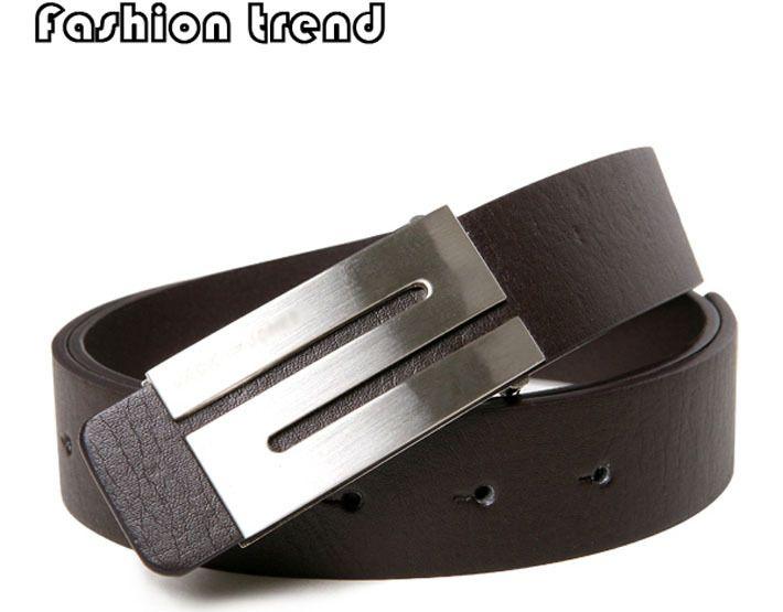Aliexpress.com : Buy Free Shipping,Men's Belt ,Fashion Faux Leather Premium S Shape Metal Mens strap man Ceinture Buckle Belt men's belt,3 color,B463 from Reliable Men's Belt suppliers on Men's choice $3.59