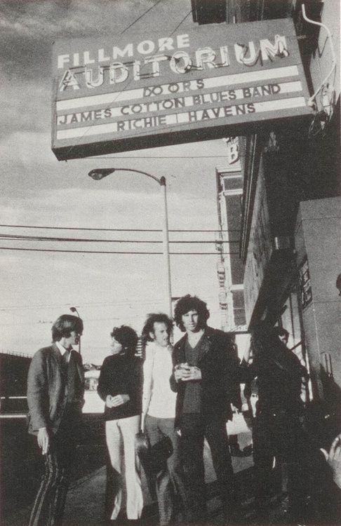 The Doors at San Franciscos Fillmore Auditorium
