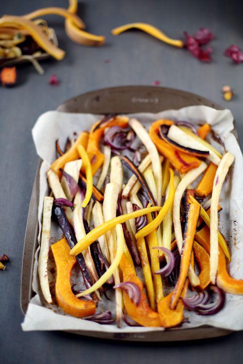 Méli Mélo de légumes rôtis au sirop dérable