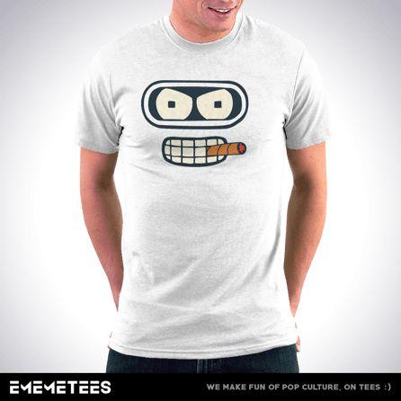 Badass Bender (męska koszulka t-shirt)