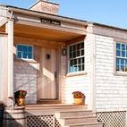 porthole door -Small Beach Cottage