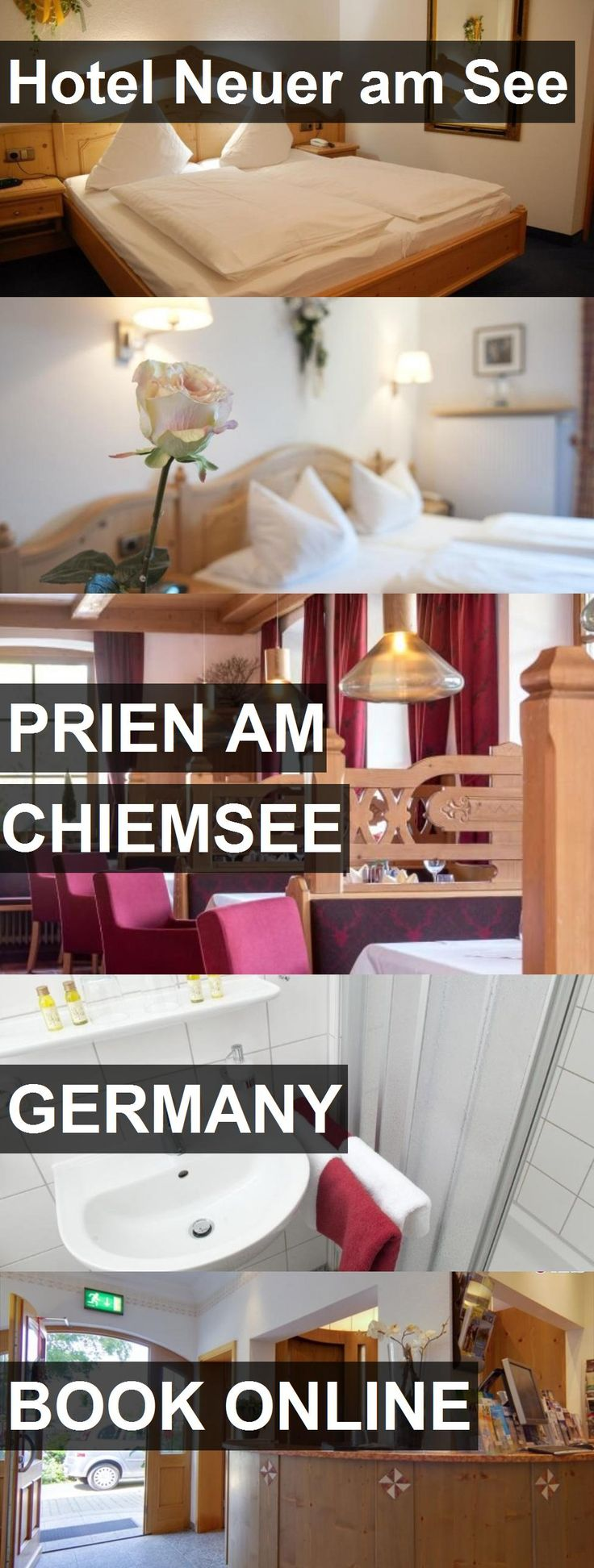 Hotel Neuer am See in Prien am Chiemsee, Germany. For more information, photos, reviews and best prices please follow the link. #Germany #PrienamChiemsee #travel #vacation #hotel
