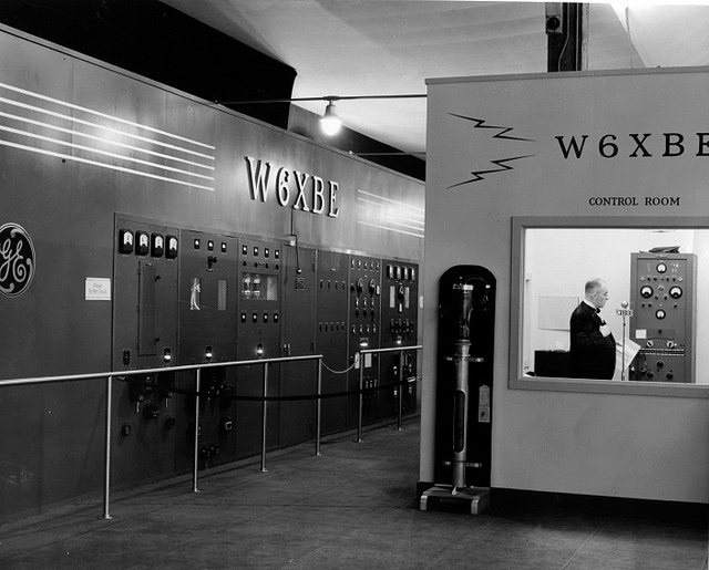"San Francisco 1940 W6XBE The ""new"" radio station on"