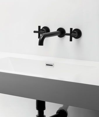 Brodware 'City Plus' tap wall set in Vecchio $554 B97.05.V