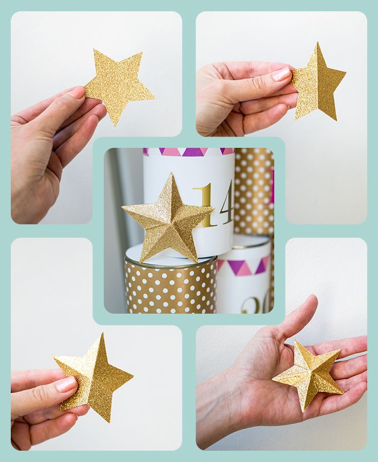 How to make a 3D star