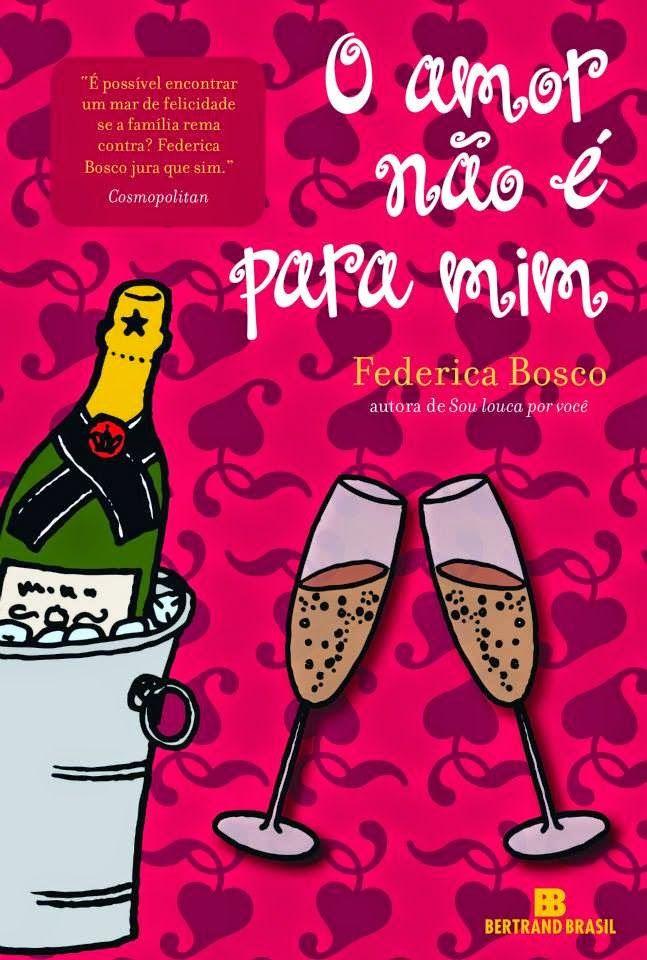 Autora do livro Sou louca por você, que conquistou o coração das mulheres em 2010, Federica Bosco apresenta O amor não é para mim, o novo e divertido capítulo na vida da protagonista Monica. A autora é hoje uma das mais importantes do gênero na Itália, com mais de 500 mil exemplares vendidos na Europa.