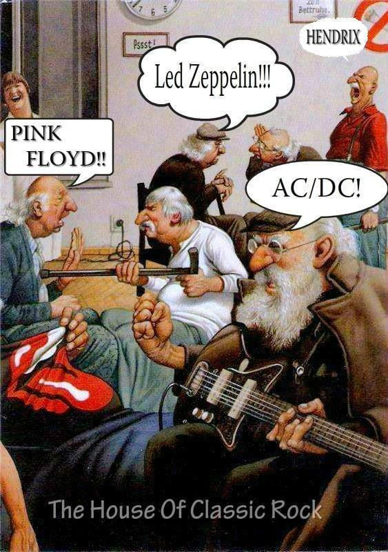 Rock on this will be me in my retirement home music for Old house music classics