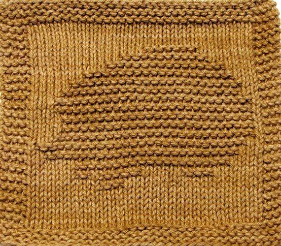 Knitting Cloth Pattern  HEDGEHOG  PDF