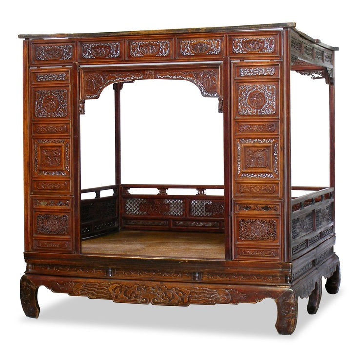 17 best images about antique chinese beds on pinterest for China furniture bed