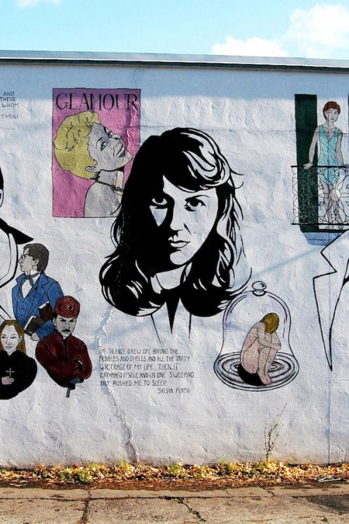 street song sylvia plath Posts about sylvia plath written by  the manic street preachers' peerless classic the holy bible, on  but halfway through the opening song,.