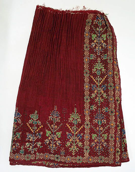 Skirt Date: early 20th century Culture: Romanian Medium: wool