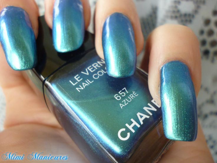 OMG you guys NEED to check this out!! Chanel Azure is stunning! http://mimimanicures.blogspot.co.uk/2013/06/omg-my-new-favourite-polish-chanel-azure.html