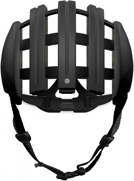 Carrera cycling helmet FOLDABLE black by Carrera If only it wasn't $100+ and I could believe it was actually effective.  WANT