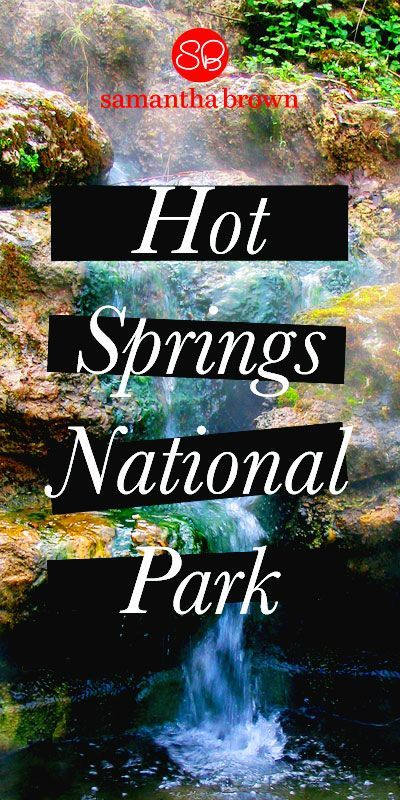 "Nicknamed ""The American Spa,"" this park surrounds the city of the same name. Arkansas. Here's why you should visit Hot Springs National Park."