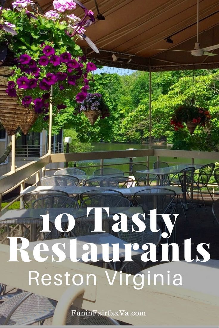 Places to eat in Virginia   Dining   These 10 tasty Reston restaurants feature non-chain spots where you can eat and drink while supporting local Virginia businesses and families.