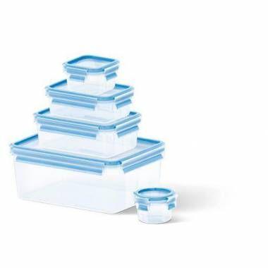 Masterseal Fresh 5'li Saklama Kabı Seti 3,70 L + 1 L + 0.55 L + 0.25 L + 0.15 L