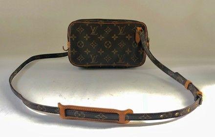 879d04ddd2ac Louis Vuitton Pochette Marly Bandouliere Brown Monogram Canvas Cross Body  Bag. Get the trendiest Cross Body Bag of the season! The Louis Vuitton  Pochette ...