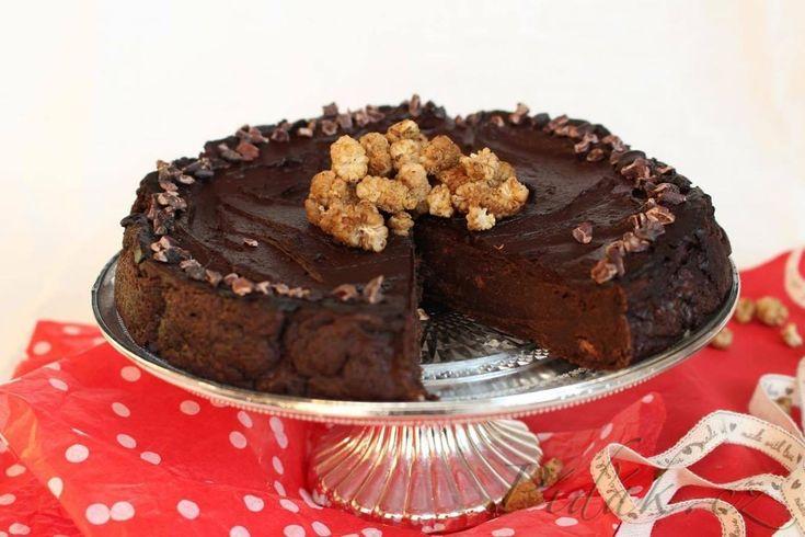 Obrázek z Recept - Batátový čoko dort