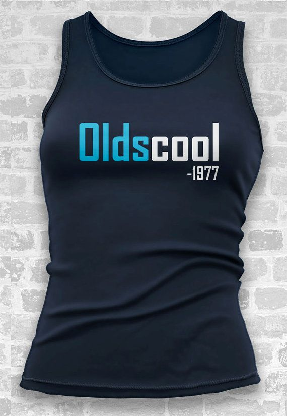 40th Birthday Gift // Oldscool 1977 Tshirt Tank //