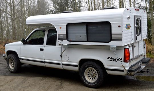 The 2015 Alaskan Camper 6 5 A Hard Side Pop Up Truck