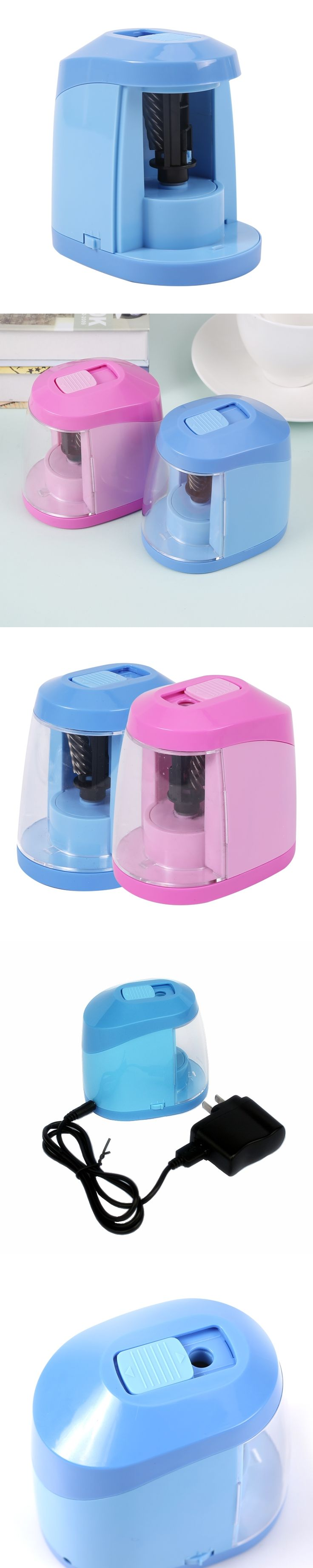 2017 new electric pencil sharpener USB power or AA batteries Automatic Pencil Sharpener 95605
