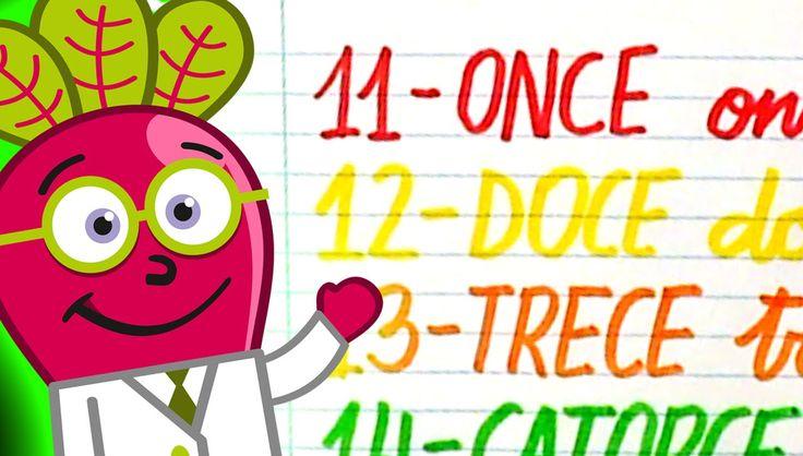 #numeros #para #niños #nivel #inicial #pequeños #hastael20 #escritos #infantil #y #letras #ordinales #actividades #numbers #spanish #11to20 #recursos #educativos #didacticos #educational #resources