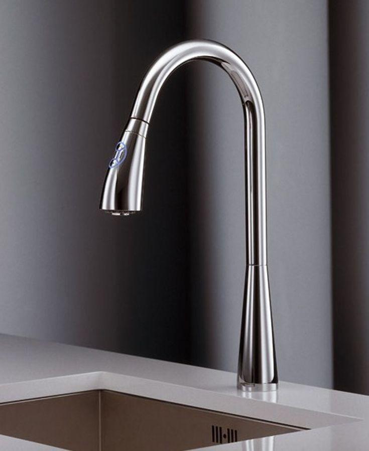 Kitchen Faucet Ideas Part - 38: Kitchen:Spacious Kitchen Faucet Reviews   Trend Decoration Modern Kitchen  Faucet Designs Ultra Modern Kitchen