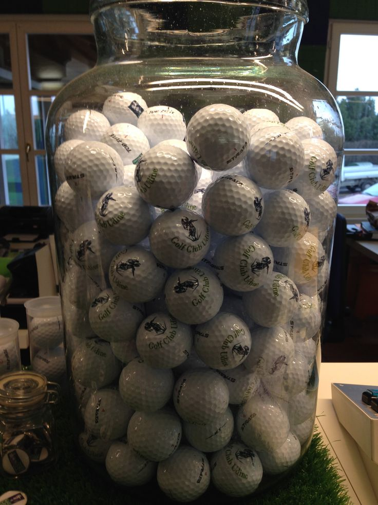 Our Club's balls - Golf Club Udine, Fagagna - Italy.
