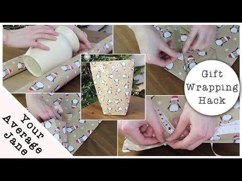 Sa technique pour emballer un cadeau sans boite, est parfaite! Oubliez les sacs cadeaux! - Trucs et Astuces - Trucs et Bricolages