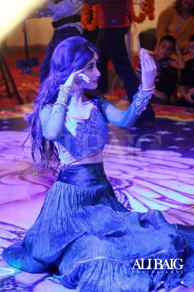 Sajal Ali wearing a gorgeous lehenga !!