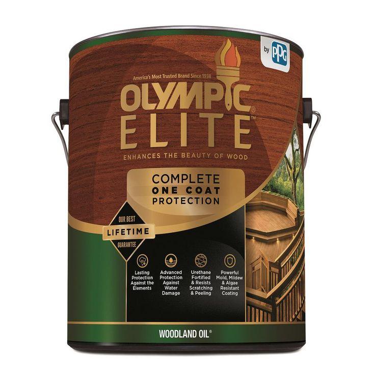Olympic elite 1 gal red cedar woodland oil advanced