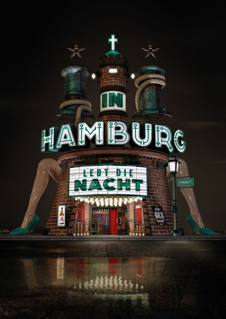 This is a tribute to our beloved hanseatic city which shows our interpretation of the coat of arms of the German state and city of Hamburg. It took it's architectural inspirations from well known areas such as the old warehouse district Speicherstadt or the famous Reeperbahn. Artwork by Foreal 3D support by Jacob Eisinger Hamburg [...]