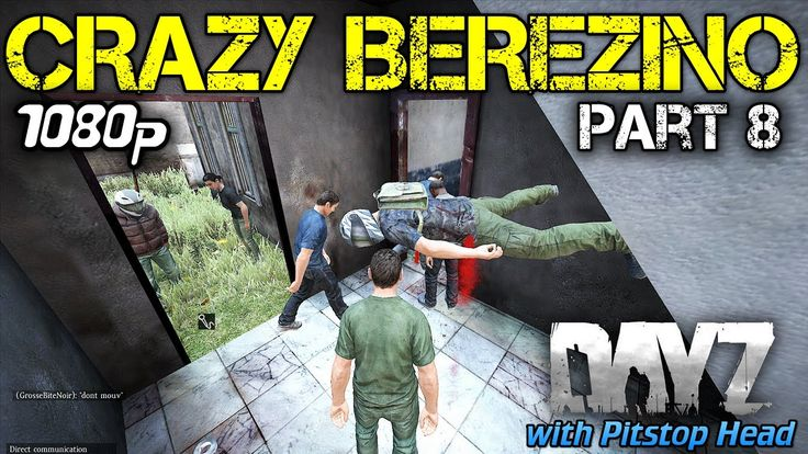 DayZ Standalone Gameplay - Crazy Berezino Series Part 8