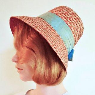 Lovley late 1950s/early 1960s sun hat