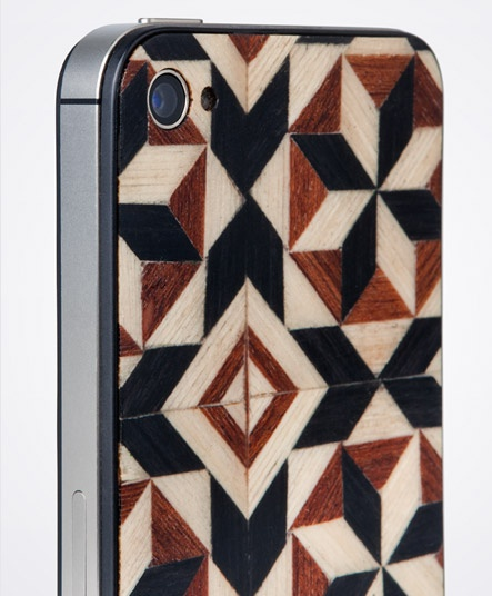 Taracea wood backs for IPhone - PURE TARACEA