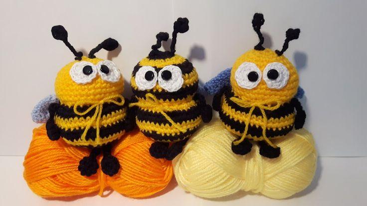 Mickey Amigurumi Bee Bee Tutorial : Oltre 1000 idee su Ape Alluncinetto su Pinterest Lavoro ...