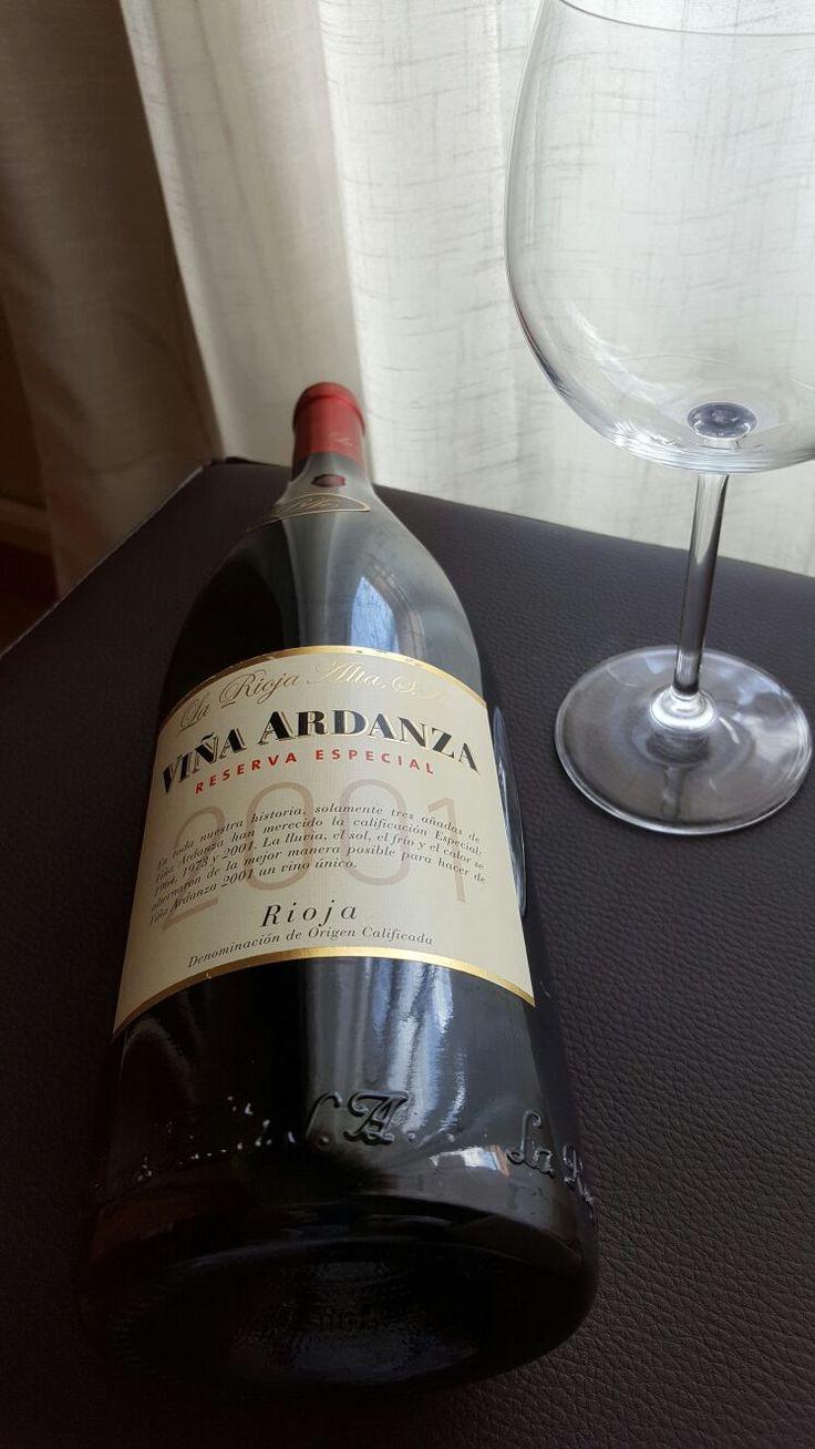 Viña Ardanza Magnun! , Reserva 2001 Un Rioja edición especial