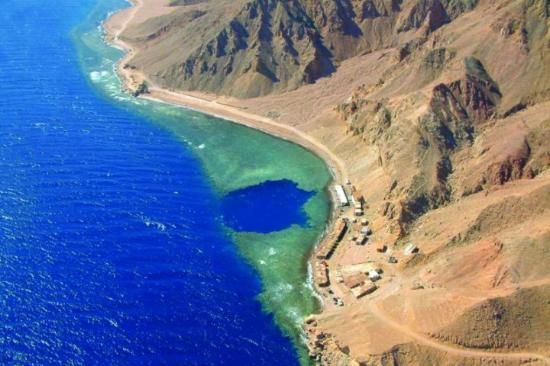Dive the Blue Hole - Dahab, Egypt
