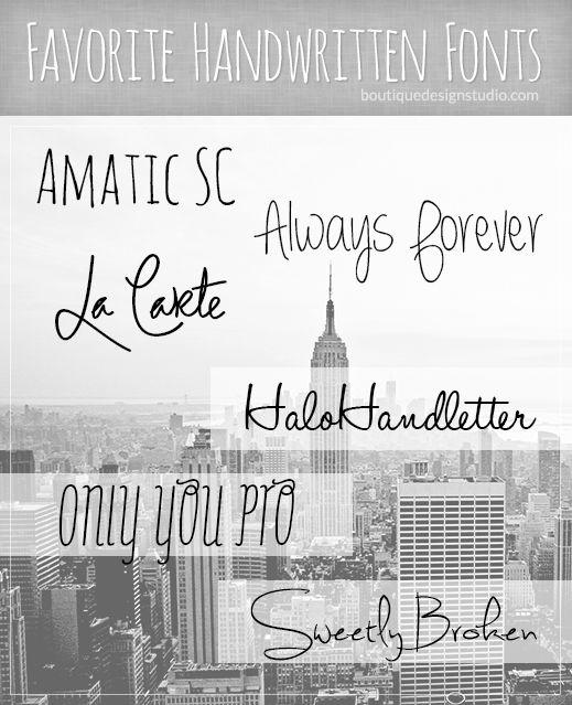 Best handwriting fonts handwritten free download