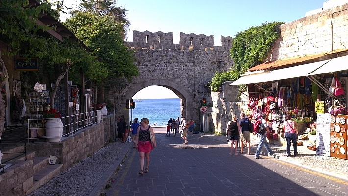 Rhodes Entrance to Old Town