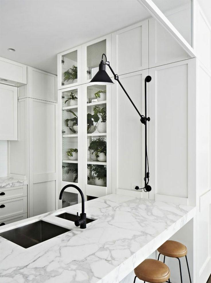 Handgrepen Keuken Industrieel : Meer dan 1000 idee?n over Zwarte Accenten op Pinterest – Muren Met