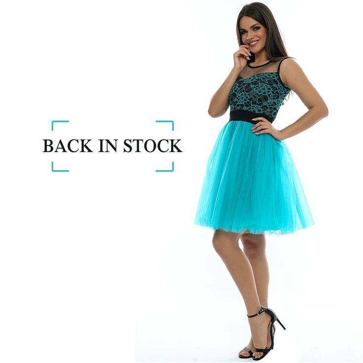 Oferă-le clientelor tale șansa să strălucească la un eveniment special, cumpărând rochia R495 pentru magazinul tău. http://www.adromcollection.ro/646-rochie-angro-r495.html