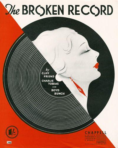 The Broken Record - Anonymous Prints - Easyart.com