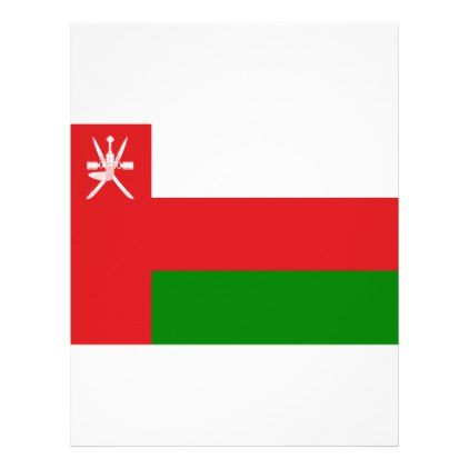 #Low Cost! Oman Flag Letterhead - #travel #office #gifts