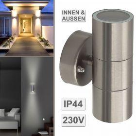 TL24 Wandleuchte Up Down BALENO-S IP44 LED für LED u. Halogen 230V Wandlampe | Einbaustrahler und mehr kaufen bei trendlights24