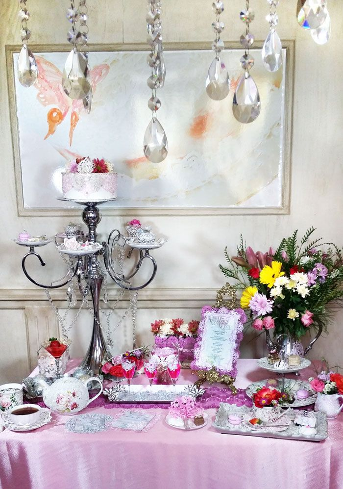 Crystal Candy's English High Tea Collection