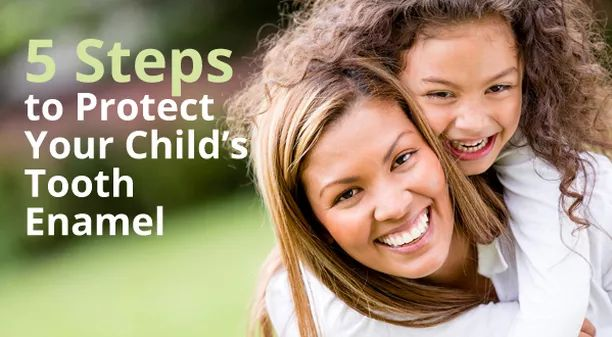 5 Steps: Protect Your Child's Enamel | Family Dentist | Northern Alberta | Slave Lake Dental - The first line of protection for your child's teeth is the enamel, which is the white, visible part of the tooth.  It's also hardest substance in the human body, and yet it takes a lot of abuse.  Enamel can crack, chip and wear away.  What steps can you take to protect your child's enamel?
